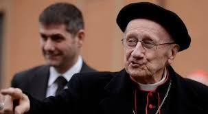 Cardinal Etchegaray has passed away, marking the end of a Vatican universe